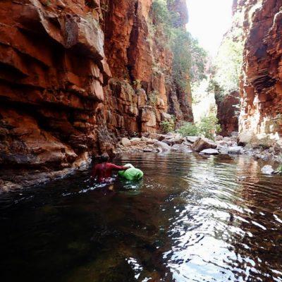 bushwalking carr boyd river landscape bag