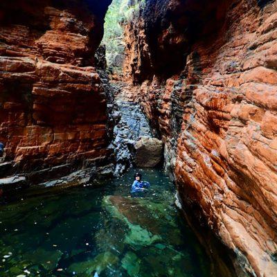 bushwalking carr boyd south small gorge