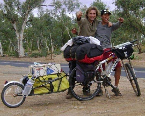 sebastien bushwalking australia