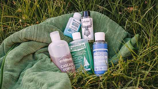 soap bushwalking